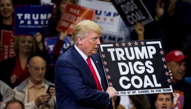 Trump EPA Acts to Roll Back Control on Climate-Changing Coal