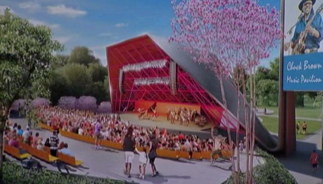 Plans Dropped for Chuck Brown Amphitheater