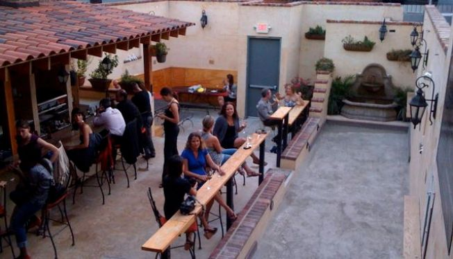 Forget the Bocce. Go to Vinoteca's Patio for the Sliders