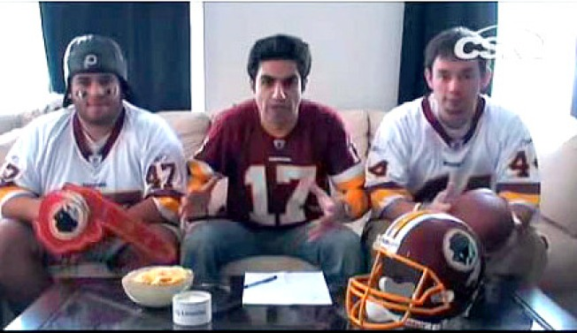 Redskins Rap Unites Wearers of Foam Fingers