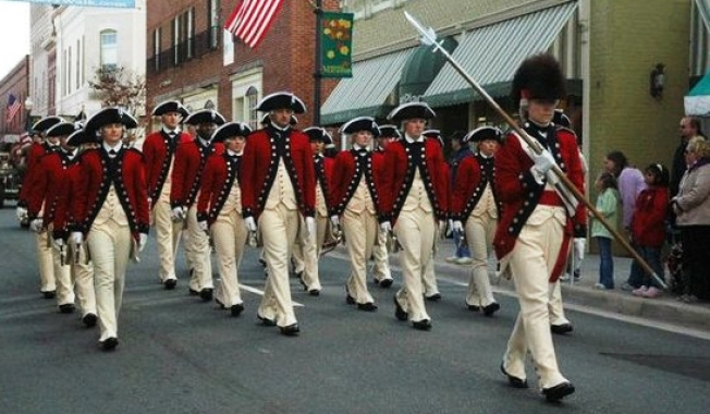 Manassas Hosts Veterans Day Parade
