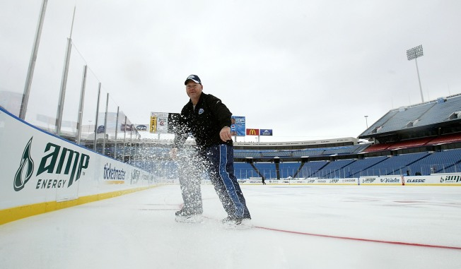 Winter Classic Notebook: Hitting the Ice