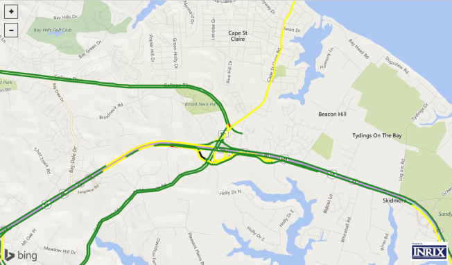 Route 50 Reopens in Annapolis After Fatal Crash, Delays Expected