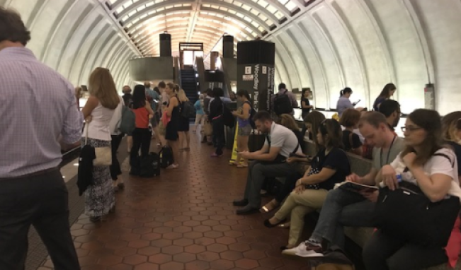 Normal Red Line Service Resumes After Track Problem Outside Gallery Place
