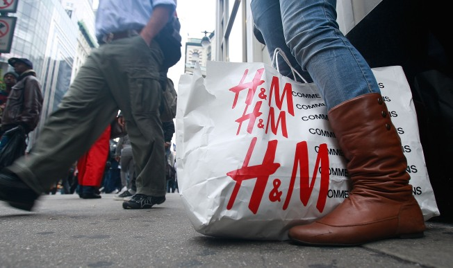 Recession Shoppers Head to H&M