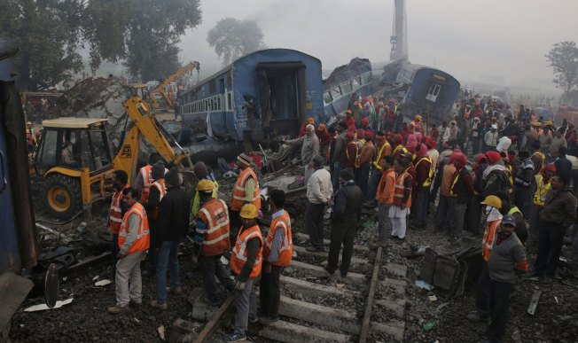 142 deaths were caused by the massive train crash from India