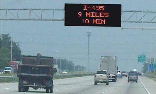 New Travel Time Signs Coming to I-66
