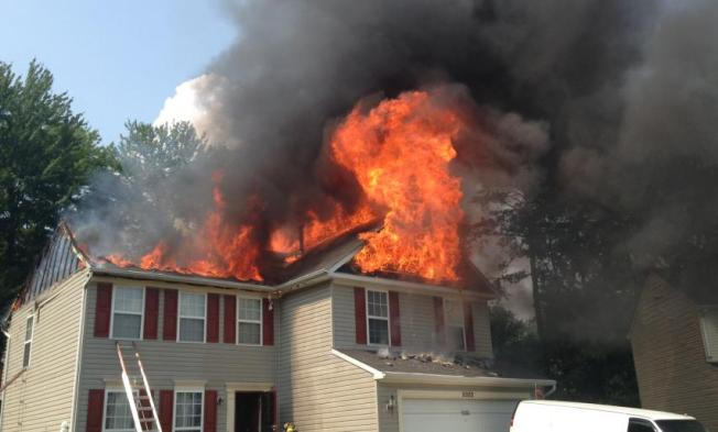 Three Injured in Springdale, Md. Fire