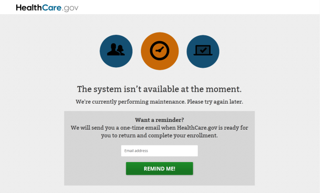 Healthcare.gov Goes Offline as Last-Minute Applicants Flock to Site