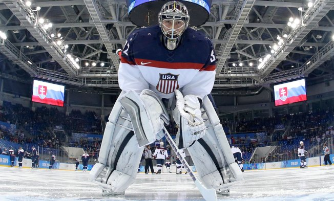 Jonathan Quick Starts in Goal for U.S. vs. Russia