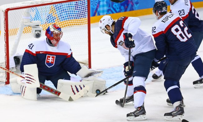 On Golden Ponds: Speed Leads To Team USA Hockey Win