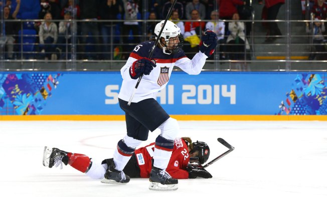 On Golden Ponds: Bitter Hockey Rivals U.S., Canada Vie for Gold