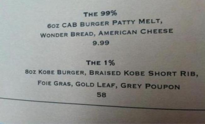 "Would You Pay $58 for the ""1%"" Burger? (No)"