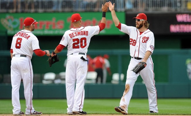 Nats Clinch Home-Field Advantage Through Playoffs