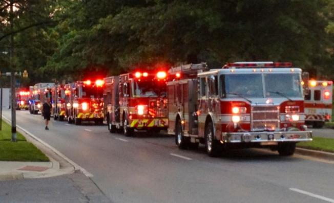 Residents, Firefighters Hospitalized in Montgomery Co. Fire