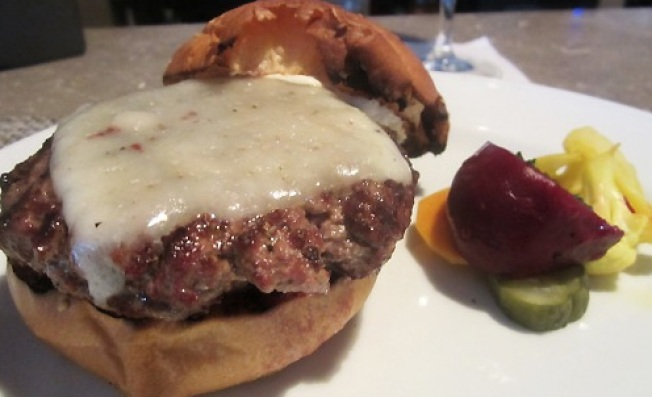 Adventures in Gustatory Bucket Listing: Palena's Cheeseburger
