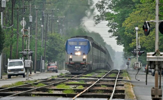 Amtrak Train Hits Man in Germantown