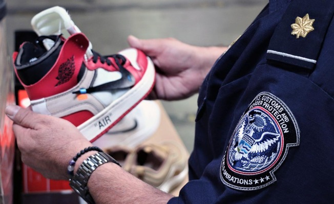 Fake Air Jordans Are Among 14,800 Knockoff Nikes Seized at LA Port