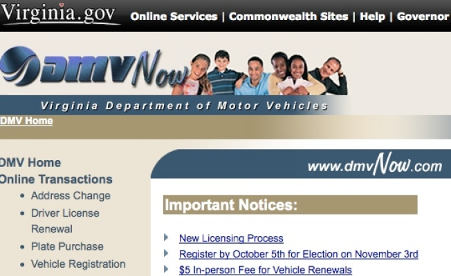 Va. DMV Offering Electronic Notifications