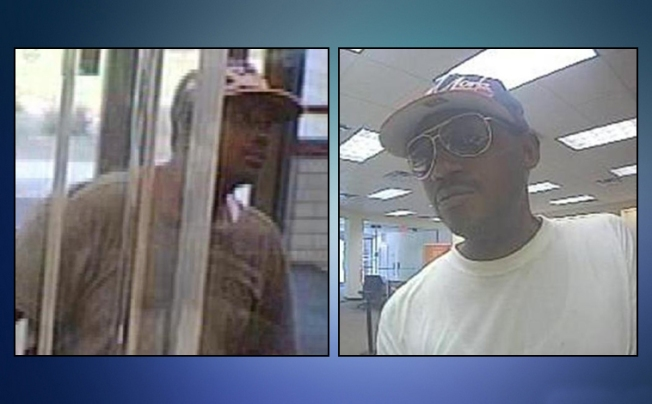 Man Wanted in at Least Two Bank Robberies