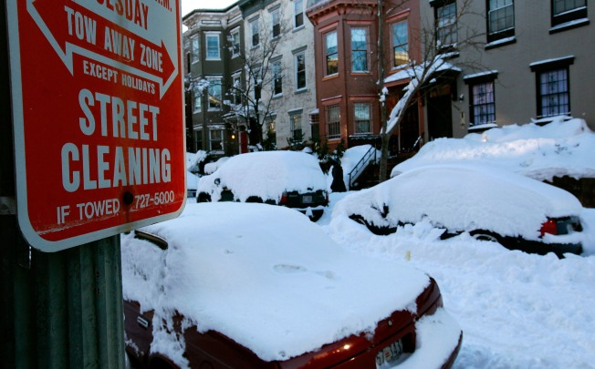 Snow Changes DC Parking and Trash Collection Rules