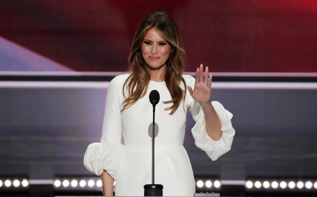 Melania Trump Trademarks Name in Slovenia