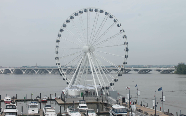 Capital Wheel Gets Ready to Light Up The National Harbor Skyline