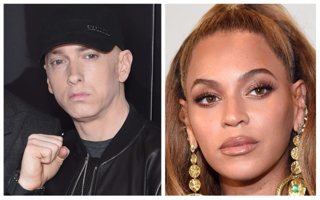 Rapper Eminem Enlists Beyoncé for His New Single