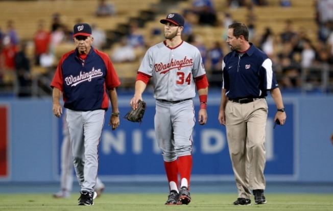 Ouch! Nationals Place Harper on 15-Day DL