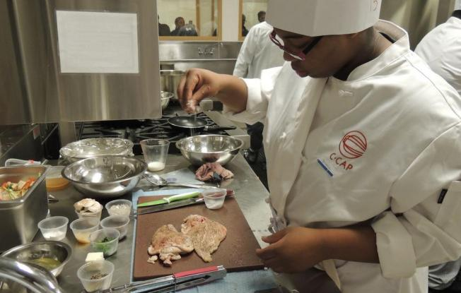 High School Students Cook Their Way to Scholarships