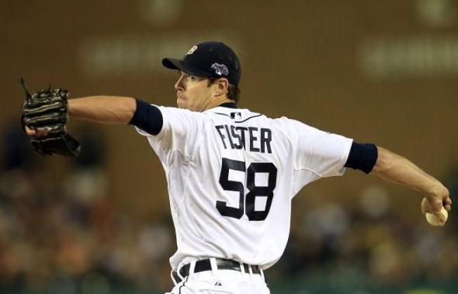 Doug Fister, Tigers Starting Pitcher, Traded to Nationals