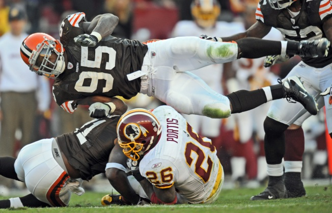 Redskins Hang On To Down Browns