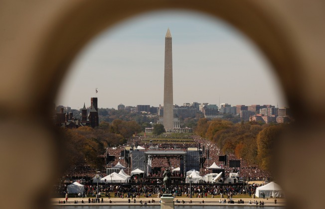 New National Mall Signs To Help Lost Tourists