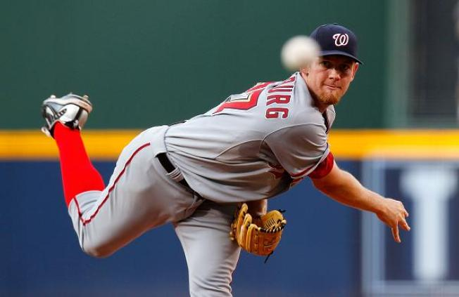 Strasburg Shuts Out Marlins