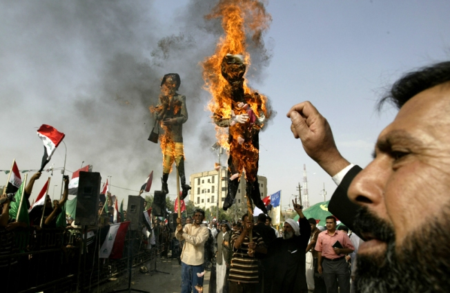 Burning Politicians in Effigy Might Look Bad