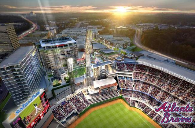 Rendering of Braves' New Stadium Depicts Them Losing to Nationals