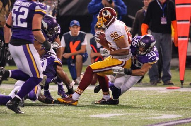Redskins' Reed Yet to Return From Week 11 Concussion