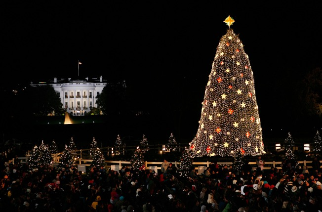 Driving Restrictions Near National Christmas Tree Lighting