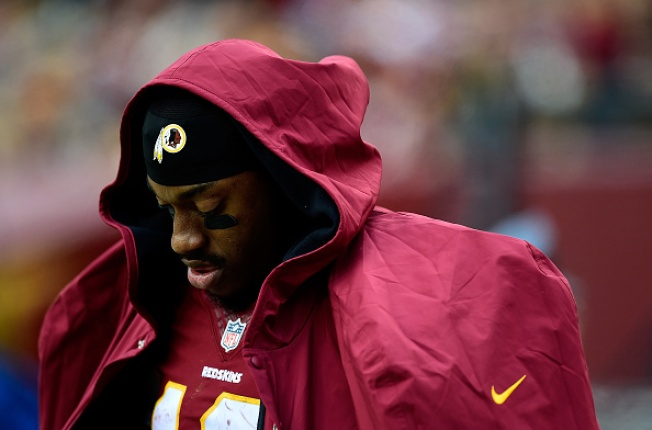 Report: Redskins Prepared To Bench Robert Griffin III If He Struggles Against 49ers