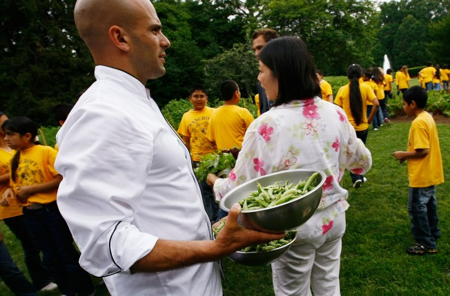 Fiesta Latina Guest Chef Raids White House Garden