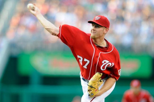 Strasburg Sparkles in Nationals' Loss