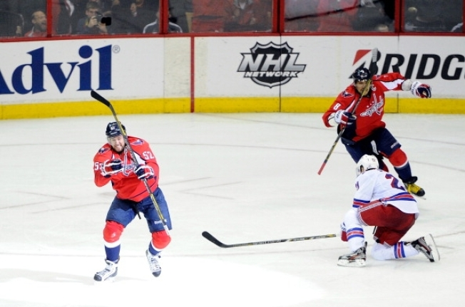 Game Over Green Scores OT Winner for Caps