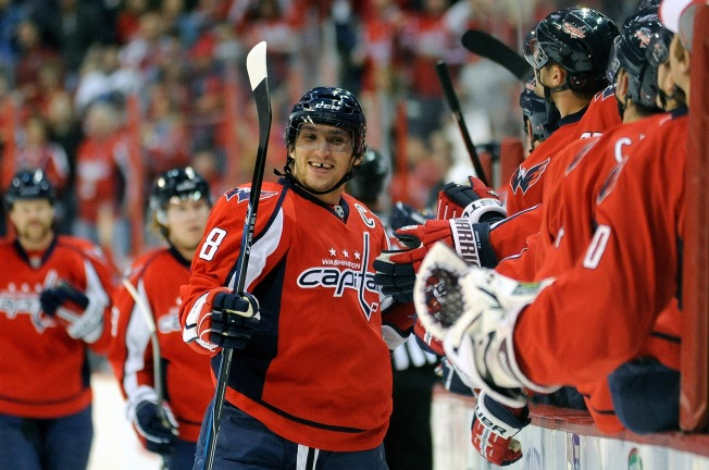 Ovechkin Ends Drought, But Caps Can't Solve Pavelec