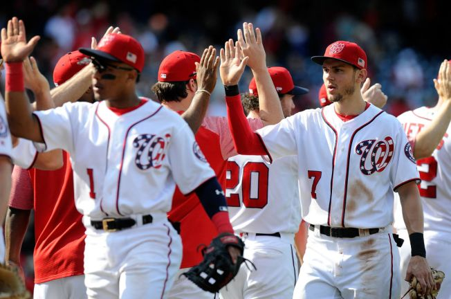 Nationals Win NL East, 1st MLB Team to Clinch Playoff Spot
