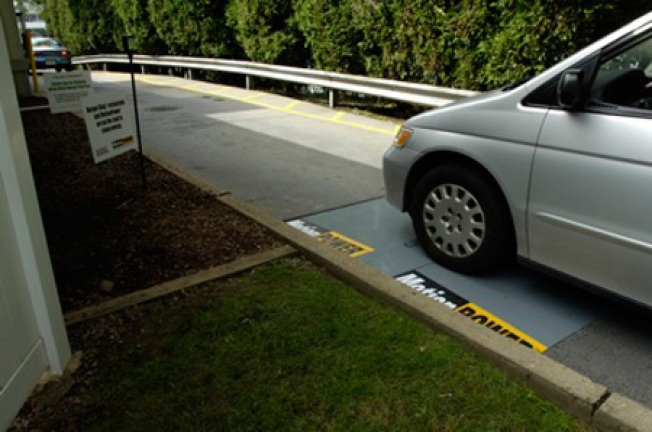 Speed Bumps Could Power Electric Grid