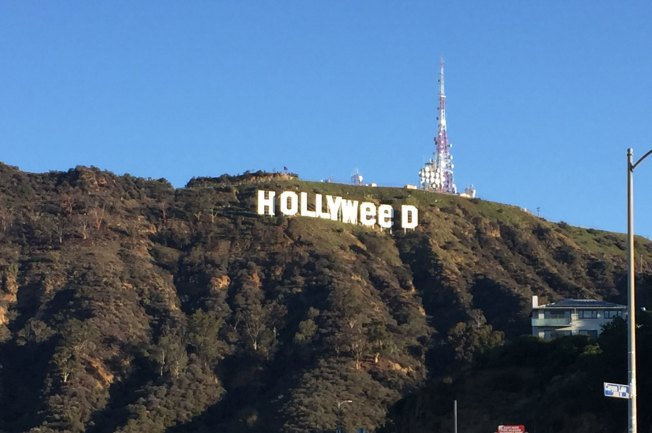 Famed Hollywood Sign Prank'd to Read