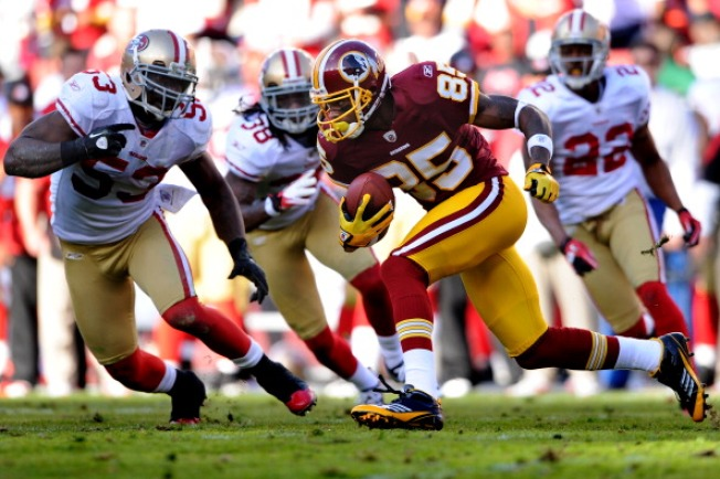 Skins Drop Fourth Straight to Hot 49ers
