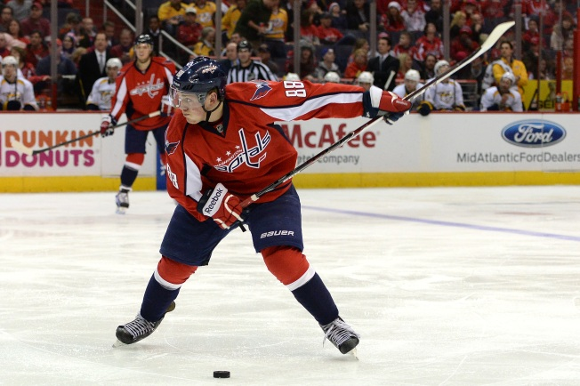 Nate Schmidt Happy to Be Contributing to Capitals
