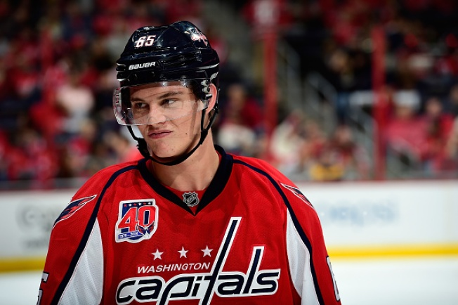 Andre Burakovsky's NHL Education Hits First Rough Patch