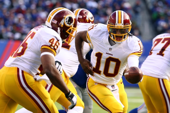 Robert Griffin III to Start Against Eagles